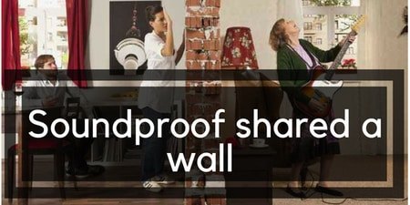 how to soundproof a wall between apartments