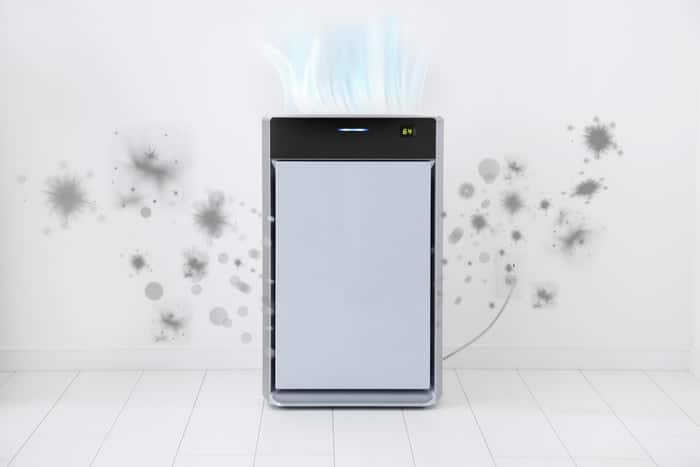 a portable quiet air purifier